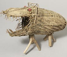 Basketry model of ivuru