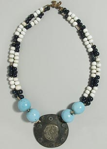 Necklace of trade beads