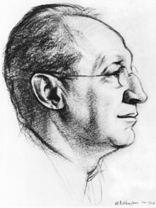 Drawn portrait of C.G. Seligman
