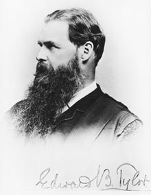 Edward Burnett Tylor in his younger days.